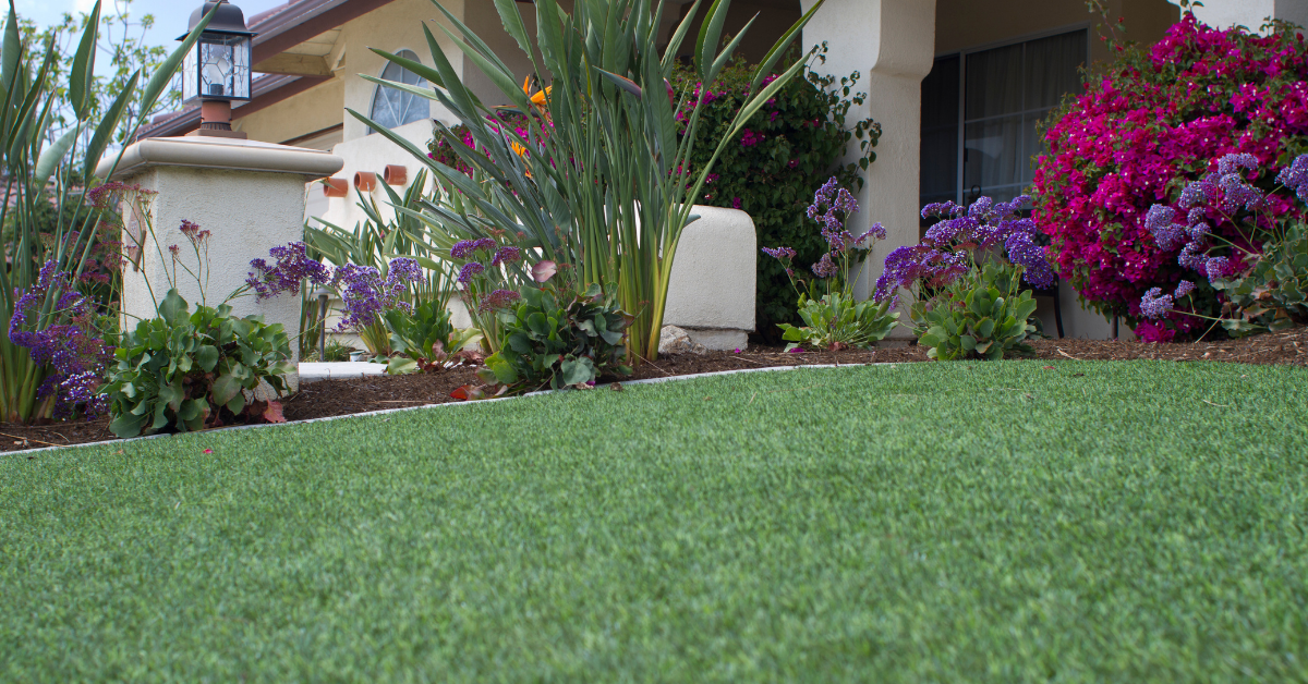front lawn artificial grass